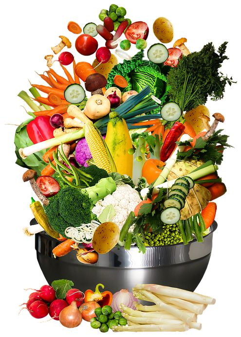 natural nutrition - vegetables